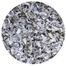 Paper shredding and recycling